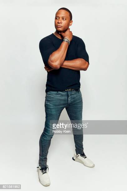 Actor David Ramsey from CW's 'Arrow' poses for a portrait during ComicCon 2017 at Hard Rock Hotel San Diego on July 22 2017 in San Diego California
