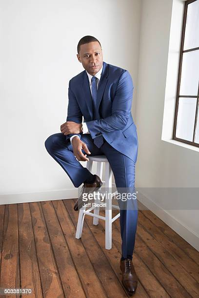 Actor David Ramsey is photographed for TV Guide Magazine on January 17 2015 in Pasadena California
