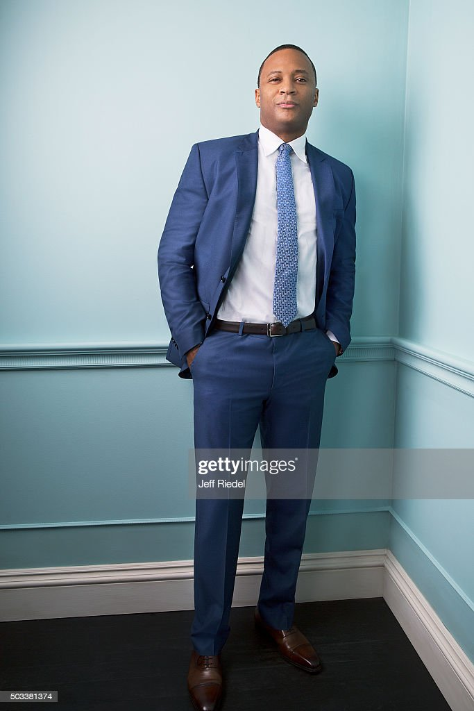 Actor David Ramsey is photographed for TV Guide Magazine on January 17, 2015 in Pasadena, California.