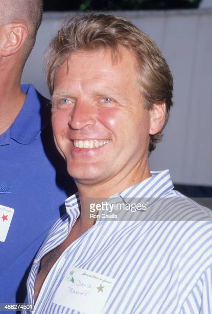 Actor David Rasche attends Alpo's 11th Bi-Annual Actors and Others for Animals Celebrity Fair on August 30, 1987 at Burbank Studio Ranch in Burbank,...