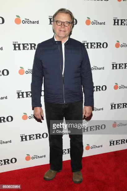 Actor David Rasche attends 'The Hero' New York Premiere at the Whitby Hotel on June 7 2017 in New York City