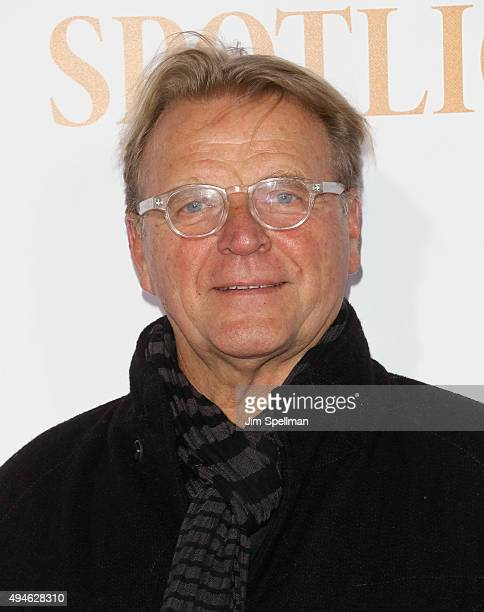 Actor David Rasche attends the 'Spotlight' New York premiere at Ziegfeld Theater on October 27 2015 in New York City