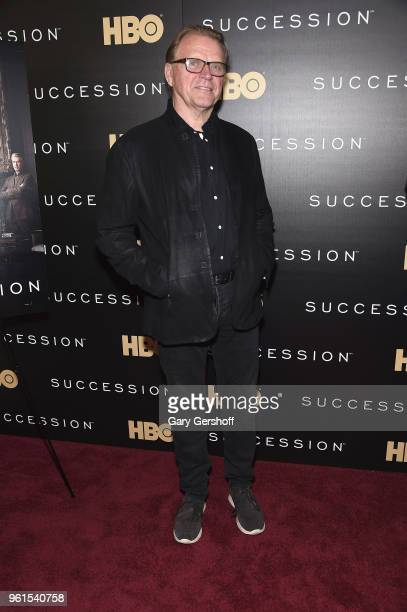 Actor David Rasche attends the 'Succession' New York premiere at Time Warner Center on May 22 2018 in New York City