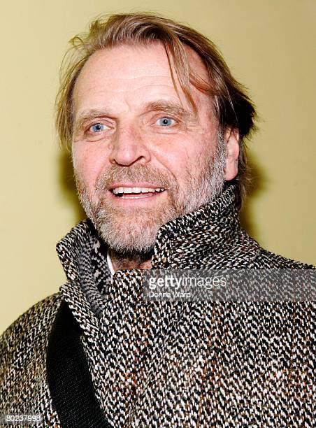 """Actor David Rasche poses before attending the after-party for """"The Seagull"""" at Pangea on March 13, 2008 in New York City."""