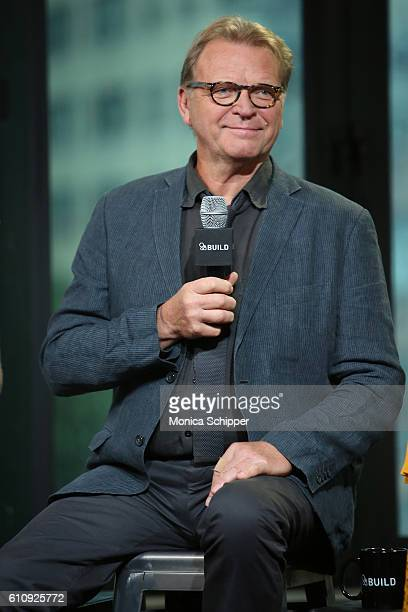 Actor David Rasche speaks at BUILD Speaker Series Presents Michael Rosenbaum Sara Rue Mircea Monroe David Rasche and Mike Kosinski Discussing...