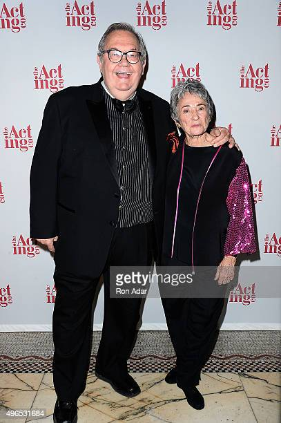Actor David Schramm and Producer Margot Harley attend the 2015 Acting Company Fall Gala at Capitale on November 9 2015 in New York City