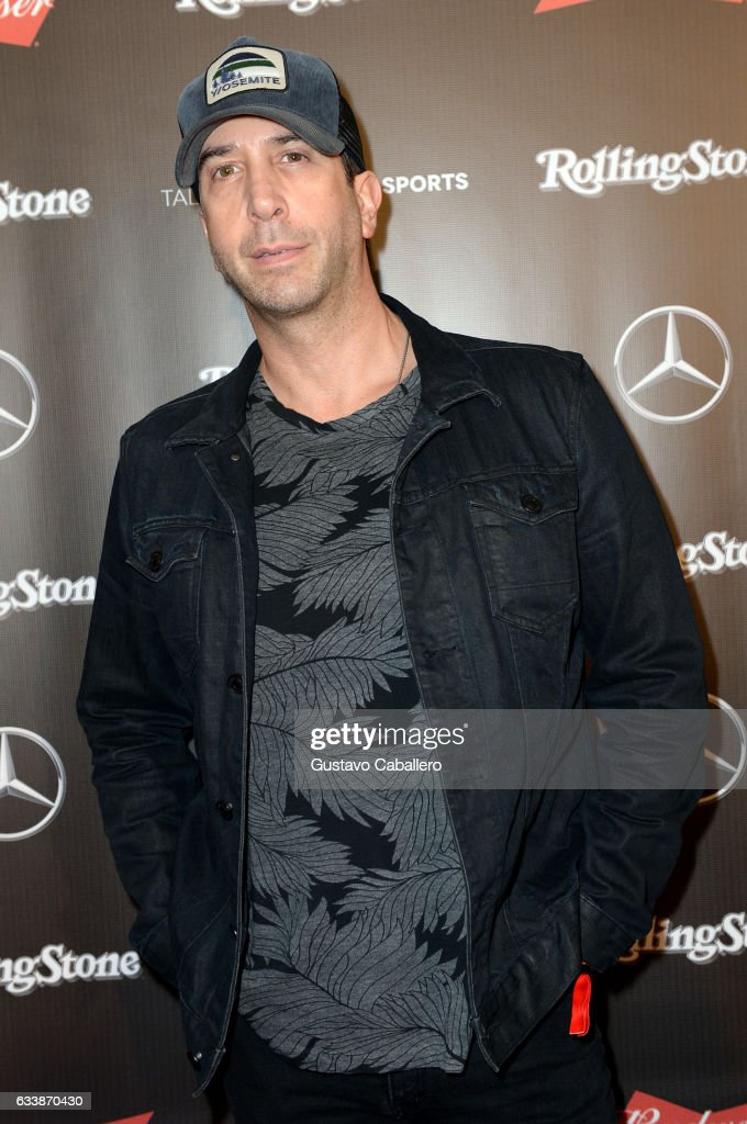 Actor David Schwimmer at the Rolling Stone Live: Houston presented by Budweiser and Mercedes-Benz on February 4, 2017 in Houston, Texas. Produced in partnership with Talent Resources Sports.