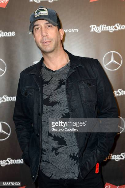 Actor David Schwimmer at the Rolling Stone Live Houston presented by Budweiser and MercedesBenz on February 4 2017 in Houston Texas Produced in...