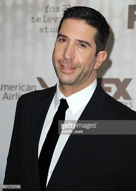 Actor David Schwimmer attends FOX and FX's 2017 Golden Globe Awards after party at The Beverly Hilton Hotel on January 8 2017 in Beverly Hills...