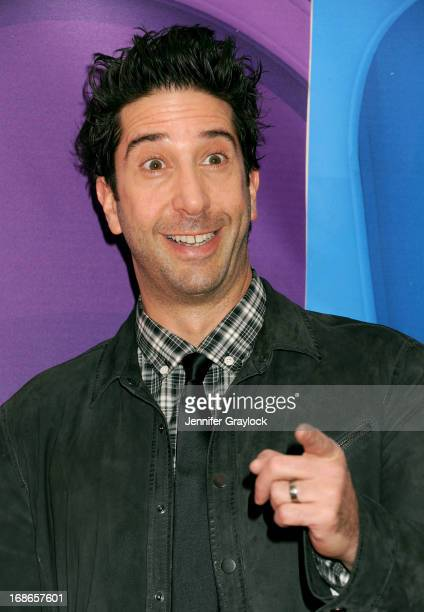 Actor David Schwimmer attends the 2013 NBC Upfront Presentation Red Carpet Event at Radio City Music Hall on May 13 2013 in New York City