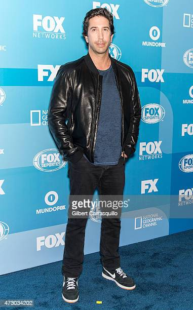 Actor David Schwimmer attends the 2015 FOX Programming Presentation at Wollman Rink Central Park on May 11 2015 in New York City