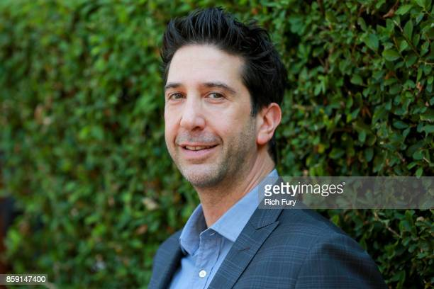 Actor David Schwimmer attends The Rape Foundation's Annual Brunch on October 8 2017 in Los Angeles California