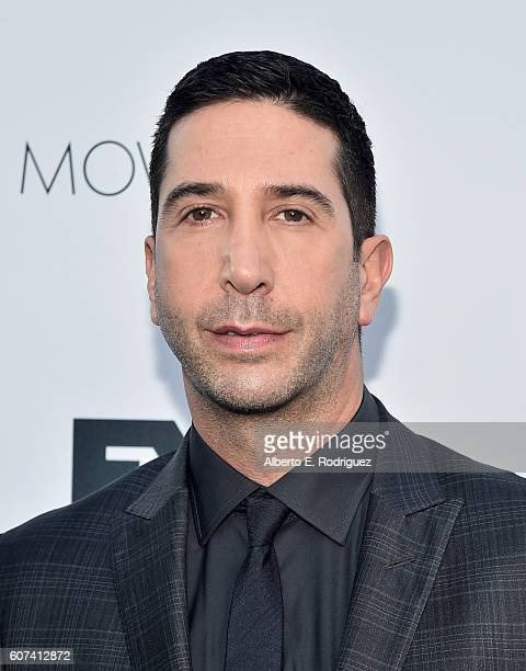 Actor David Schwimmer attends the Vanity and FX Annual Primetime Emmy Nominations Party at Craft Restaurant on September 17 2016 in Beverly Hills...