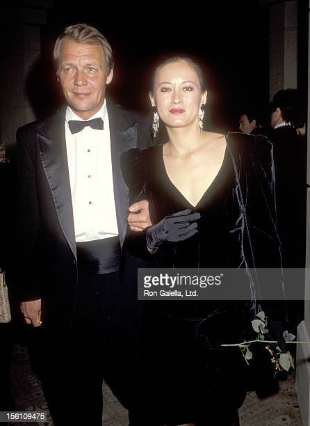 Actor David Soul and wife Actress Julia Nickson attend the 43rd Annual Directors Guild of America Awards on March 16 1991 at Beverly Hilton Hotel in...