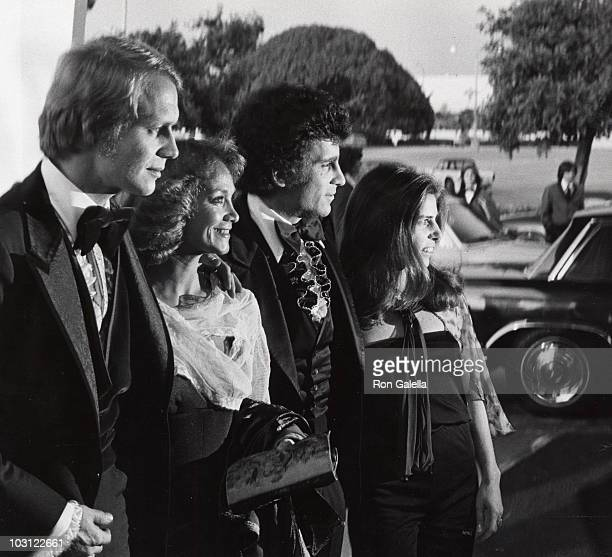 Actor David Soul and wife Karen Carlson actor Paul Michael Glaser and wife Elizabeth Meyer attend Second Annual People's Choice Awards on February 19...