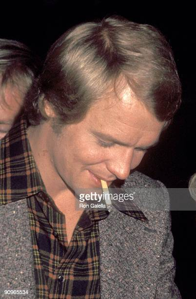 Actor David Soul on March 1 1977 arriving for a Taping of The Merv Griffin Show at TAV Celebrity Theatre in Hollywood California