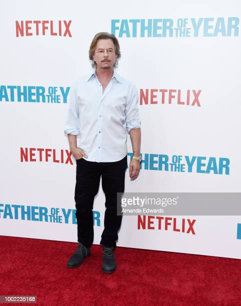 Actor David Spade arrives at a special screening of Netflix's 'Father Of The Year' at ArcLight Hollywood on July 19 2018 in Hollywood California