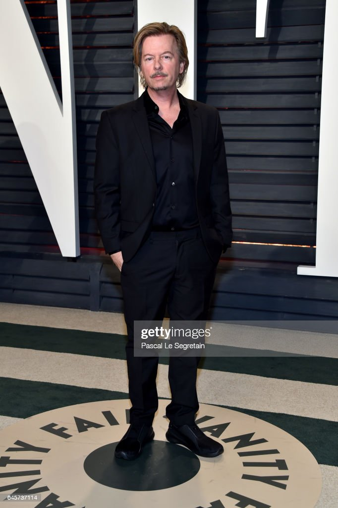 Actor David Spade attends the 2017 Vanity Fair Oscar Party hosted by Graydon Carter at Wallis Annenberg Center for the Performing Arts on February 26, 2017 in Beverly Hills, California.