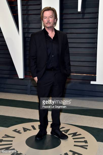 Actor David Spade attends the 2017 Vanity Fair Oscar Party hosted by Graydon Carter at Wallis Annenberg Center for the Performing Arts on February 26...