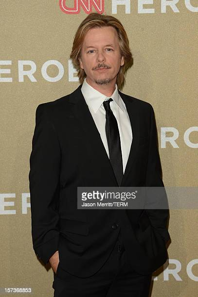 Actor David Spade attends the CNN Heroes: An All Star Tribute at The Shrine Auditorium on December 2, 2012 in Los Angeles, California....