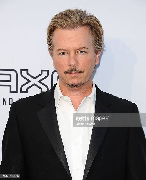 Actor David Spade attends the Comedy Central Roast of Rob Lowe at Sony Studios on August 27 2016 in Los Angeles California