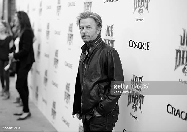 Actor David Spade attends the world premiere of Crackle's Joe Dirt 2 Beautiful Loser at Sony Pictures Studios on Wednesday June 24 2015 in Culver...