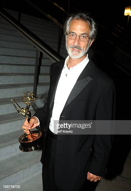 Actor David Strathairn attends the 62nd Annual Primetime Emmy Awards Governors Ball held at the Los Angeles Convention Center on August 29 2010 in...