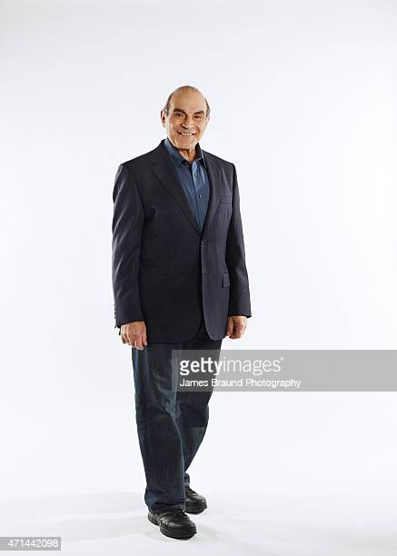 Actor David Suchet is photographed for New York Times Magazine on September 2 2014 in Melbourne Australia