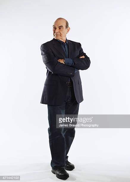 Actor David Suchet is photographed for New York Times Magazine on September 2 2014 in Melbourne Australia PUBLISHED IMAGE