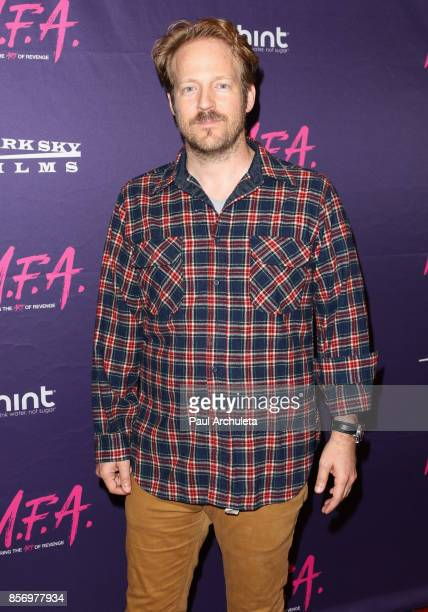 Actor David Sullivan attends the premiere of Dark Sky Films' 'MFA' at The London West Hollywood on October 2 2017 in West Hollywood California