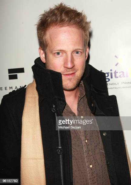 Actor David Sullivan attends the 'Skateland' cast and crew dinner at the Green Lodge Supper Club on January 24 2010 in Park City Utah