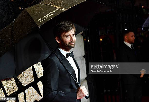 Actor David Tennant attends the BFI London Film Festival awards during the 60th BFI London Film Festival at Banqueting House on October 15 2016 in...