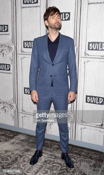 Actor David Tennant attends the Build Series to discuss Camping at Build Studio on October 9 2018 in New York City