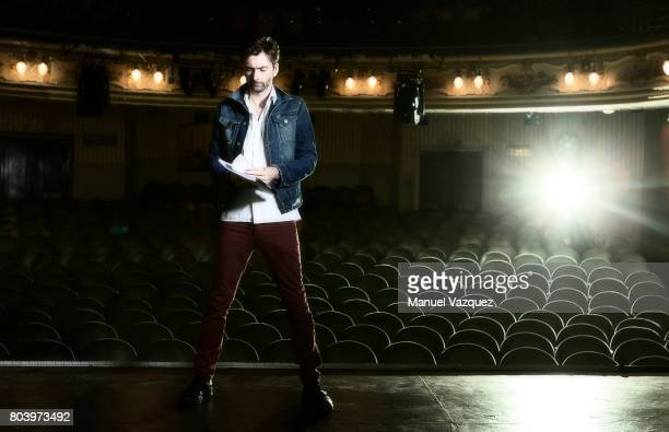 Actor David Tennant is photographed for the Guardian on March 31 2017 in London England