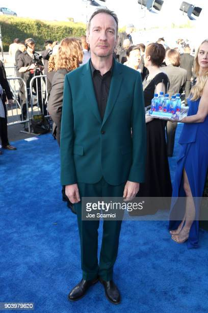 Actor David Thewlis attends the 23rd Annual Critics' Choice Awards on January 11 2018 in Santa Monica California