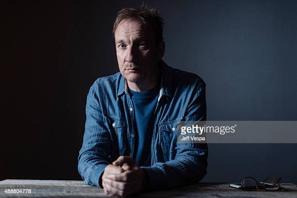 Actor David Thewlis of 'Anomalisa' poses for a portrait at the 2015 Toronto Film Festival at the TIFF Bell Lightbox on September 15 2015 in Toronto...