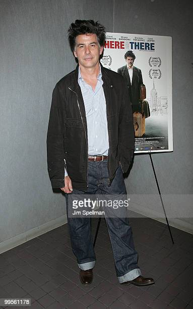 Actor David Thornton attends the premiere of Here There at Quad Cinema on May 14 2010 in New York City
