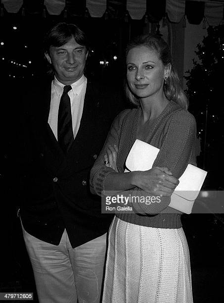 Actor David Tree and actress Camilla Sparv attend the Superman II WrapUp Party on April 23 1980 at Chasen's Restaurant in Beverly Hills California