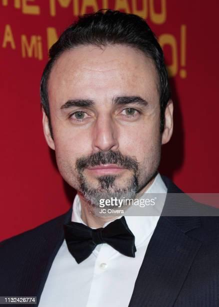 Actor David Vega attends 'HE MATADO A MI MARIDO' Los Angeles Premiere at Harmony Gold Theatre on February 26 2019 in Los Angeles California