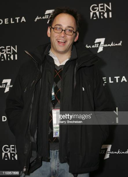 Actor David Wain attends the Gen Art Fresh Faces Party hosted by Seven Jeans at the Sky 360 Lounge on January 18 2008 in Park City Utah