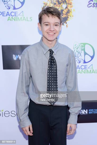 Actor Davis Desmond arrives to the 'For The Love Of Animals Gala' on March 25 2017 in Burbank California