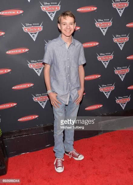 Actor Davis Desmond attends Disney's Cars x Sportie LA Event at Sportie LA on June 8 2017 in Los Angeles California