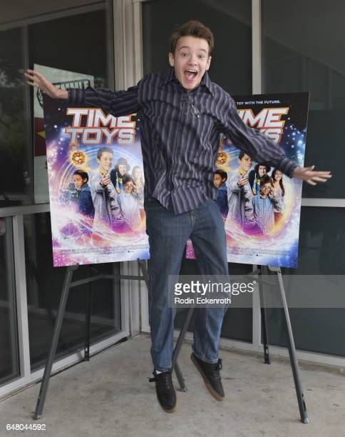 Actor Davis Desmond attends premiere of 'Time Toys' at Laemmle NoHo 7 on March 4 2017 in North Hollywood California