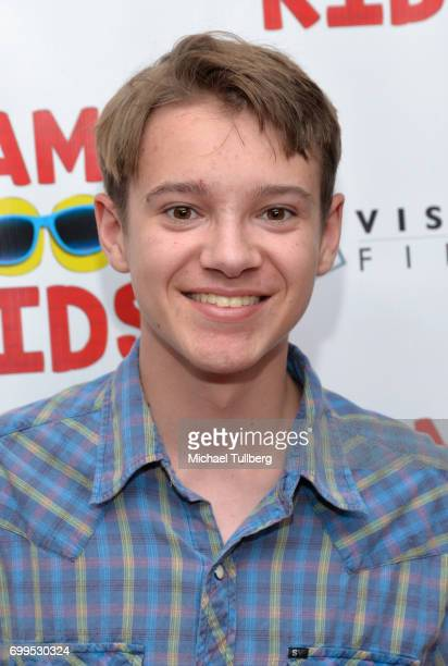 Actor Davis Desmond attends the premiere of Vision Films' 'Camp Cool Kids' at AMC Universal City Walk on June 21 2017 in Universal City California