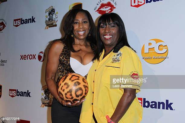 Actor Dawnn Lewis and TV host Kiki Shepard KIS Foundation's 13th Annual Celebrity Bowling Challenge For Sickle Cell Disease Awareness Arrivals at...
