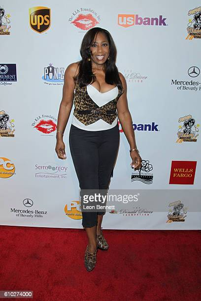 Actor Dawnn Lewis attends KIS Foundation's 13th Annual Celebrity Bowling Challenge For Sickle Cell Disease Awareness Arrivals at PINZ Entertainment...