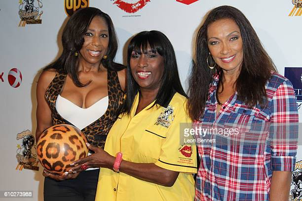 Actor Dawnn Lewis TV host Kiki Shepard and Kathleen Bradley attends KIS Foundation's 13th Annual Celebrity Bowling Challenge For Sickle Cell Disease...