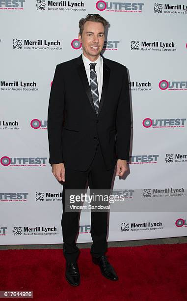 Actor Dax Shepard attends the 12th Annual Outfest Legacy Awards at Vibiana on October 23 2016 in Los Angeles California