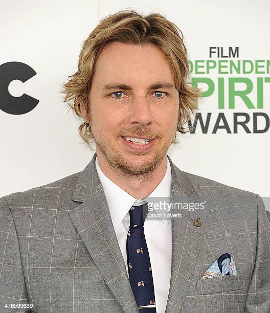 Actor Dax Shepard attends the 2014 Film Independent Spirit Awards on March 1, 2014 in Santa Monica, California.