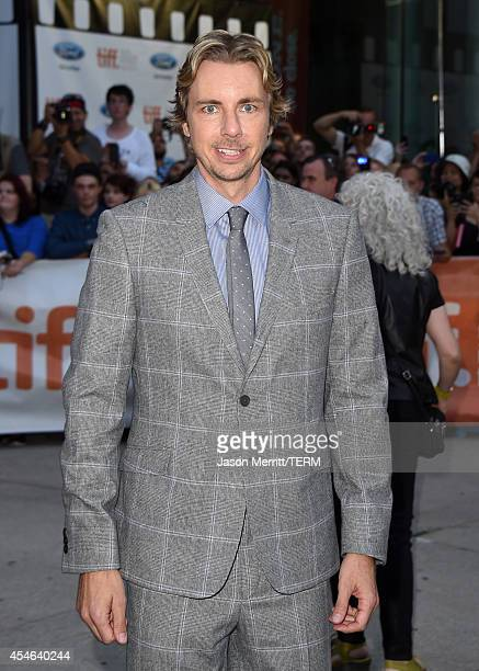 Actor Dax Shepard attends The Judge gala premiere during the 2014 Toronto International Film Festival at Roy Thomson Hall on September 4 2014 in...
